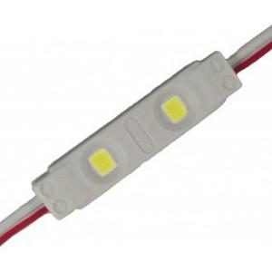 Светодиодный модуль 2835 0,36W 12V 6500K Белый 25Lm 120° IP65 75mm серия MINI-2