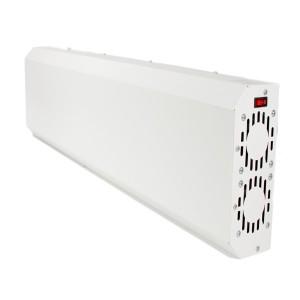 Рециркулятор бактерицидный ECO RECIRC UVC 2*15W WT F ЭПРА (в комплекте 2 лампы TIBERA) L600x250x11mm