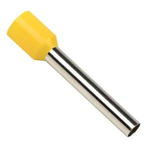 Наконечник штыревой втулочный изолированный  НШвИ 6-24 6 мм2 24мм (упаковка 50шт.) EKF