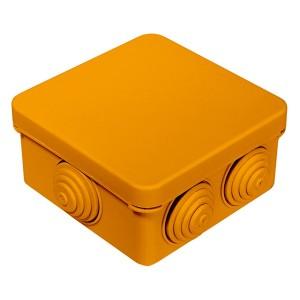 Коробка огнестойкая для открытой проводки 40-0210-FR1.5-4 Е15-Е120 80х80х40 Промрукав
