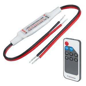 Диммер для светодиодной ленты Navigator 14 019 ND-01-DIMM-IP20-12V 72Вт 12В, 144Вт 24В  DC5-24B 6A