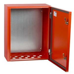 Корпус металлический ЩМП-2-0 У2 (500х400х220 мм) IP54 RAL 3020 IEK с монтажной панелью