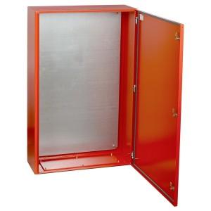 Корпус металлический ЩМП-7-0 У2 (1400х650х285 мм) IP54 RAL 3020 IEK с монтажной панелью