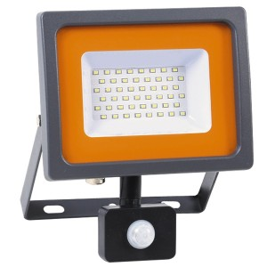 Прожектор светодиодный PFL-SC-SMD-30Вт sensor 30Вт 6500К IP54 (матовое стекло) Jazzway 4895205001411