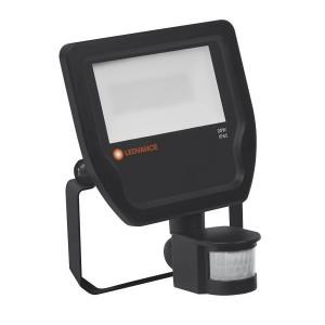Прожектор светодиодный с датчиком LEDVANCE FLOODLIGHT LED 20W 3000K SENSOR BLACK IP65 2000Lm