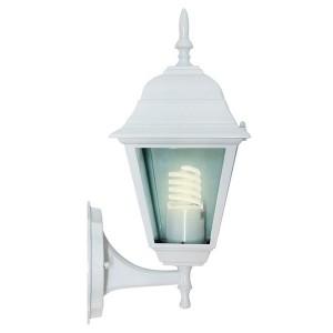 Светильник садово-парковый Классика 4101 E27 150*195*360мм белый (на стену вверх)