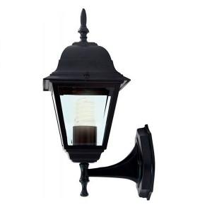 Светильник садово-парковый Классика 4101 E27 150*195*360мм черный (на стену вверх)