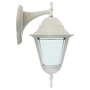 Светильник садово-парковый Классика 4102 E27 150*195*360мм белый (на стену вниз)