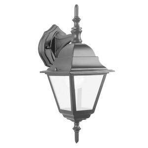 Светильник садово-парковый Классика 4102 E27 150*195*360мм черный (на стену вниз)