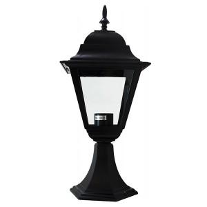 Светильник садово-парковый Классика 4104 E27 150*150*410мм черный (на постамент)