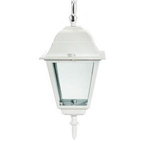 Светильник садово-парковый Классика 4105 E27 150*150*350мм белый (на цепи 500мм)