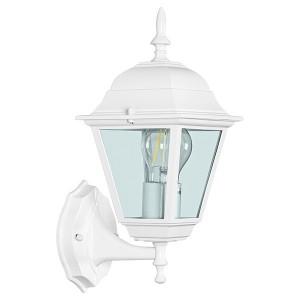 Светильник садово-парковый Классика 4201 E27 185*215*400мм белый (на стену вверх)