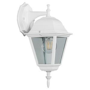 Светильник садово-парковый Классика 4202 E27 185*215*400мм белый (на стену вниз)