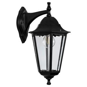 Светильник садово-парковый Классика 6102 E27 170*200*320мм черный (на стену вниз)