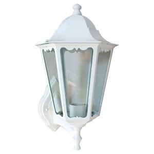 Светильник садово-парковый Классика 6201 E27 225*195*380мм белый (на стену вверх)