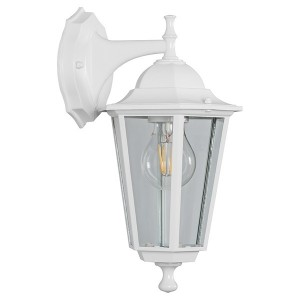 Светильник садово-парковый Классика 6202 E27 225*195*380мм белый (на стену вниз)
