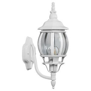 Светильник садово-парковый Классика 8101 E27 160*220*450мм белый