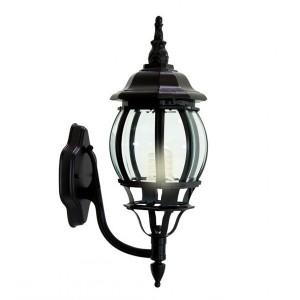 Светильник садово-парковый Классика 8101 E27 160*220*450мм черный