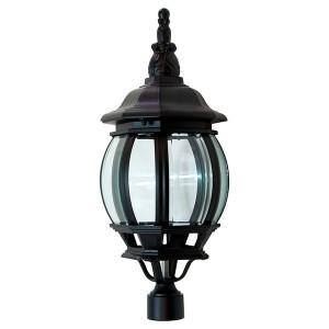 Светильник садово-парковый Классика 8103 E27 160*160*410мм черный