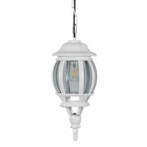 Светильник садово-парковый Классика 8105 E27 160*160*400мм белый