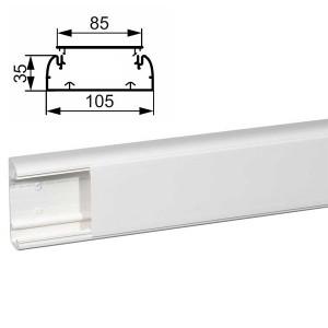 Кабель-канал Legrand DLP 105x35 с крышкой 85мм (кабельный короб)
