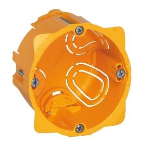 Монтажная коробка Legrand Batibox 1п гл.50мм для сухих перегородок [уп. 50шт]