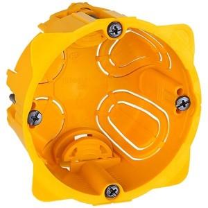 Монтажная коробка Legrand Batibox 1п гл.60мм для сухих перегородок [уп. 20шт]