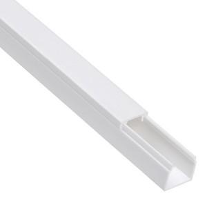 Кабель-канал 15х10 белый Элекор IEK 2м/шт [уп. 144м] (кабельный короб)