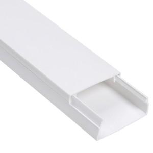 Кабель-канал 100х60 белый Элекор IEK 2м/шт [уп. 8м] (кабельный короб)