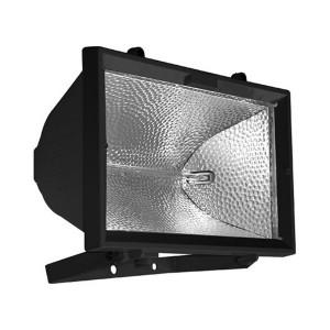 Прожектор галогенный FL-H 1500W R7s IP54 черный