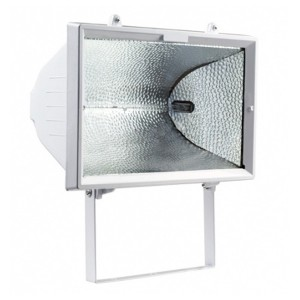 Прожектор галогенный FL-H 1500W R7s IP54 белый