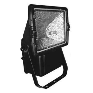 Прожектор металлогалогенный FL-12 70W BLACK Rx7s IP65 асимметричный черный