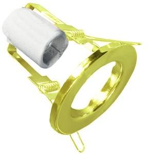 Точечный светильник Mona A 39 Золото/Gold R39 220В Е14 встраиваемый