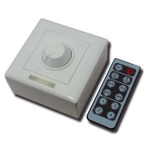 Диммер с ИК-пультом 96W 12-24V для светодиодных лент