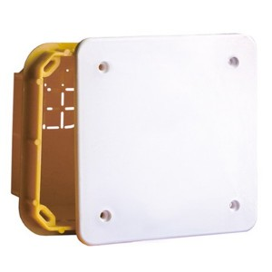 Коробка ответвительная прямоугольная для твердых стен DKC IP40, 160х130х70мм