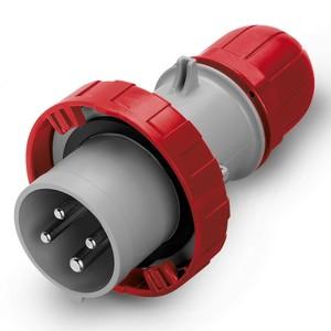 Вилка кабельная DKC Quadro IP67 125A 3P+E 400V