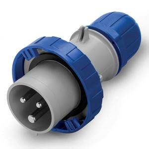 Вилка кабельная DKC Quadro IP67 16A 2P+E 230В