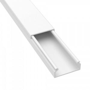 Мини кабель-канал DKC TMC 22x10 белый (кабельный короб)