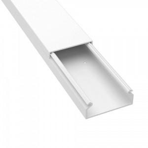 Мини кабель-канал DKC TMC 40x17 белый (кабельный короб)