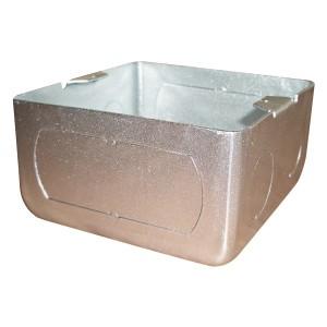 Коробка BOX/1.5S для люков Экопласт LUK/1.5 (AL, BR) в пол, металлическая для заливки в бетон