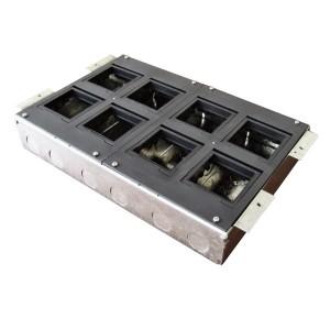 BOX/8 Коробка с суппортами для люка Экопласт LUK/8 в пол, металлическая для заливки в бетон