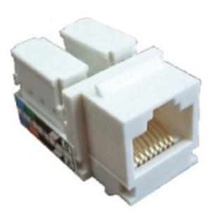 Механизм компьютерной розетки RJ-45, кат.5е, UTP Экопласт LK45