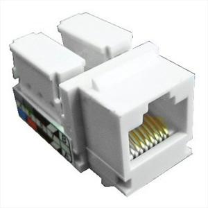 Механизм компьютерной розетки RJ-45, кат.5е, UTP 110/Krone Экопласт LK45
