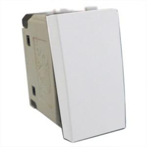 Выключатель 45х22,5 мм Экопласт LK45 16A, 250B белый