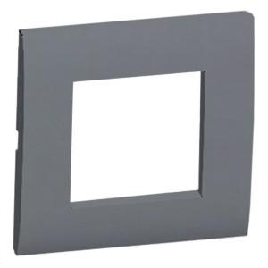 Рамка 1-постовая (серебристый металлик) LK45 Экопласт
