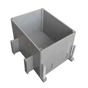 Коробка BOX/2+2ST66 для люка Экопласт LUK/2+2ST66 в пол для заливки в бетон пластик