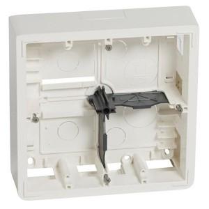 Коробка для накладного монтажа Legrand Mosaic 2х5 или 2х2х2 модуля высота 50мм