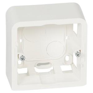Коробка для накладного монтажа Legrand Mosaic 2 модуля высота 30мм