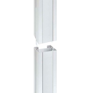 Удлинитель двухсторонней колонны Simon Connect ALK2200, 1м, алюминий