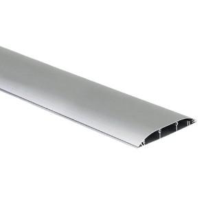 Кабель-канал напольный (основа с крышкой, 3 секции) Simon Connect 130x18мм, алюминий (кабельный короб)